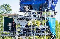 AMSTELVEEN -  tv toren , tower, television, tv,  . Semi Final Pro League  women, Australie-Groot Brittannie (6-1). COPYRIGHT KOEN SUYK