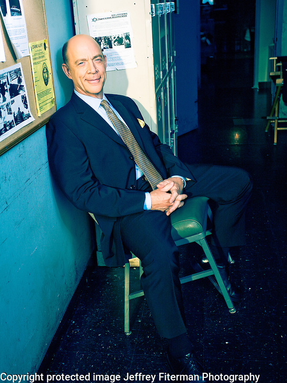 J.K. Simmons photographed for Venice Magazine in Los Angeles, CA