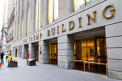 THEMENBILD - Donald John Trump ist der Kandidat der Republikanischen Partei für die US-Präsidentschaftswahl 2016, im Bild 40 Wall Street - The Trump Building, Aufgenommen am 09. August 2016 // Donald John Trump is the Republican Party nominee for President of the United States in the 2016 election. This picture shows 40 Wall Street - The Trump Building, New York City, United States on 2016/08/09. EXPA Pictures © 2016, PhotoCredit: EXPA/ Sebastian Pucher
