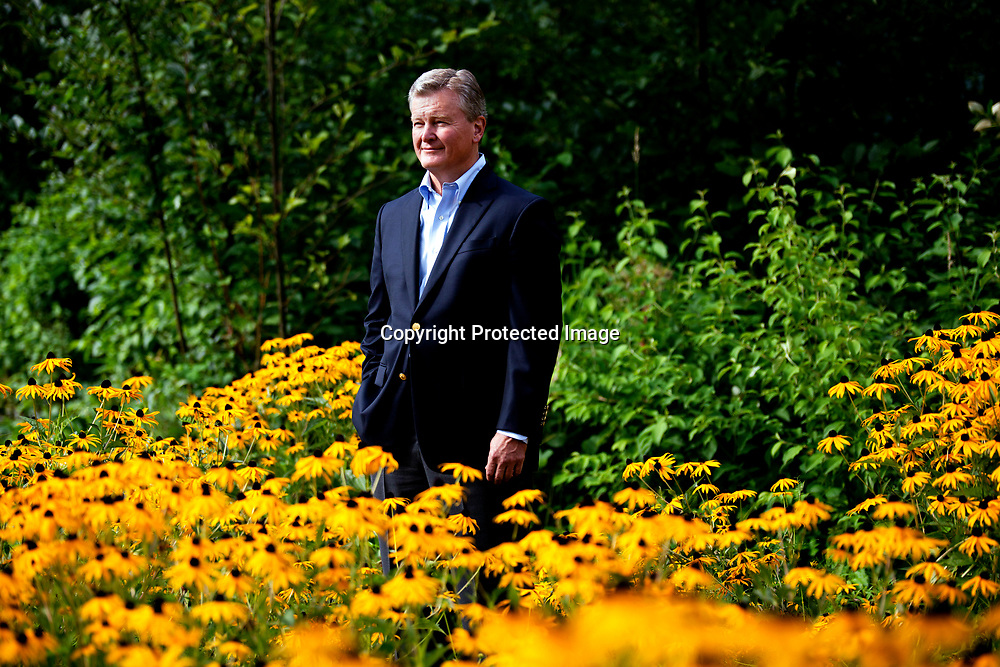 John Sheridan is retiring after eight years as CEO of Ballard Power Systems, Inc. Photographed in Burnaby, British Columbia on Wednesday, Aug. 20, 2014. (Taehoon Kim)