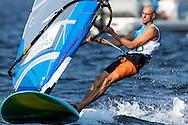 2016 Olympic Sailing Games-Rio-Brazil, ANP Copyright Thom Touw, Olympische Spelen Zeilen, rm-NED- Dorian Van Rijsselberge- RSX Men, Dag 2, race2, wederom 1ste