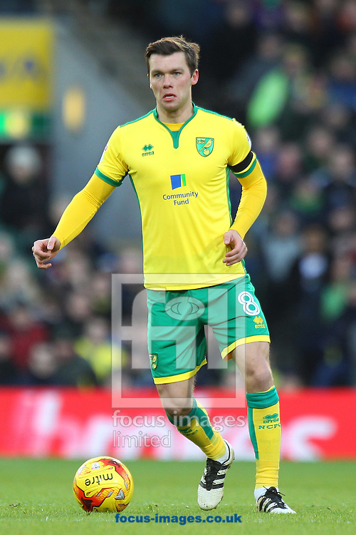 Jonny Howson of Norwich in action during the Sky Bet Championship match at Carrow Road, Norwich<br /> Picture by Paul Chesterton/Focus Images Ltd +44 7904 640267<br /> 02/01/2017