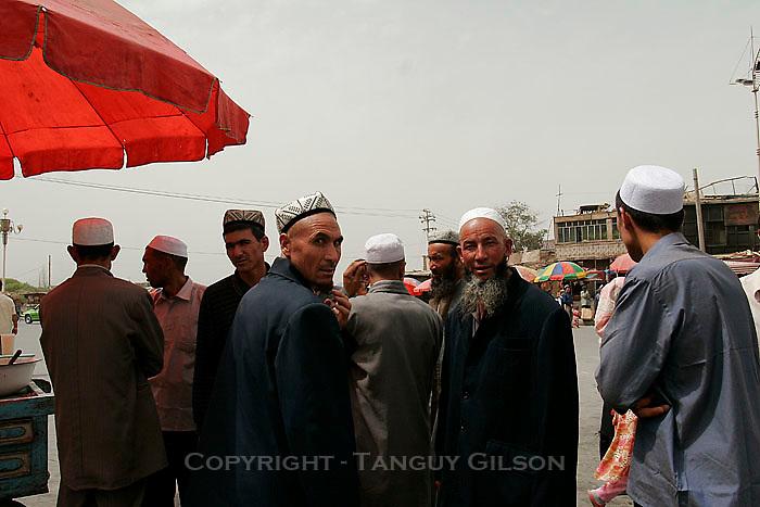 Uighurs in Xinjiang Kashgar China 2006-2009