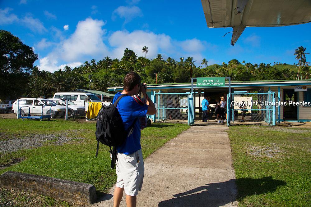 Savusavu airport, Vanua Levu, Fiji