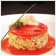 Le Ricette Tradizionali della Cucina Italiana.Italian Cooking Recipes. Lasagnetta di verdure e peperone..