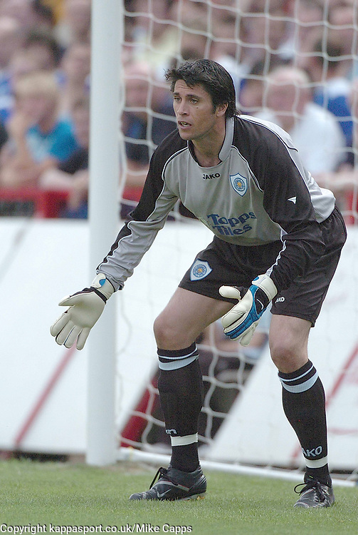 PAUL HENDERSON GOALKEEPER   LEICESTER CITY, Kettering Town v Leicester City Friendly, Rockingham Road, 26th July 2008