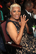October 13, 2012- Bronx, NY: Recording Artist Dionne Warick attends the Black Girls Rock! Awards presented by BET Networks and sponsored by Chevy held at the Paradise Theater on October 13, 2012 in the Bronx, New York. BLACK GIRLS ROCK! Inc. is 501(c)3 non-profit youth empowerment and mentoring organization founded by DJ Beverly Bond, established to promote the arts for young women of color, as well as to encourage dialogue and analysis of the ways women of color are portrayed in the media. (Terrence Jennings)