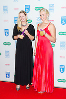Naomi Riches and Pamela Relph,Guide Dog of the Year Awards and Charity Ball, London Hilton, Park Lane, London UK, 11 December 2013, Photo by Raimondas Kazenas