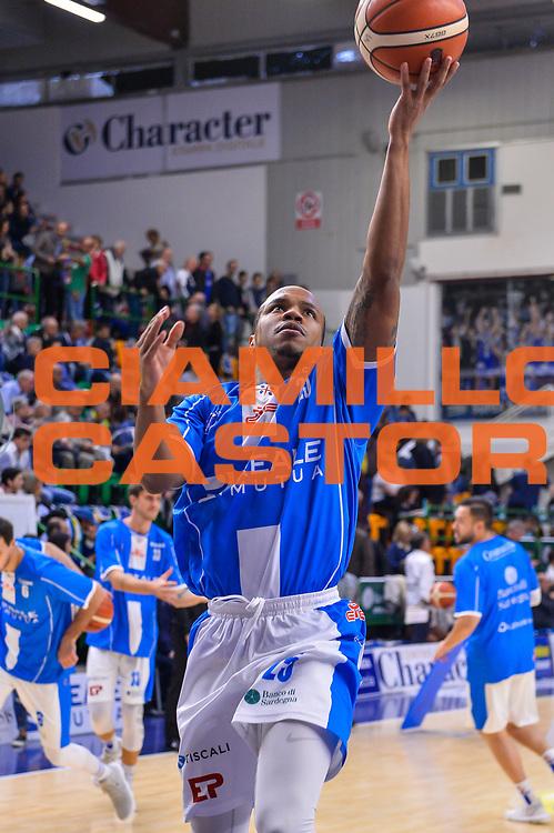 William Hatcher<br /> Banco di Sardegna Dinamo Sassari - Olimpia EA7 Emportio Armani Milano<br /> LegaBasket LBA Poste Mobile 2017/2018<br /> Sassari, 29/10/2017<br /> Foto L.Canu / Ciamillo-Castoria