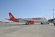Air Malta, Airbus A320-200 At Ben Gurion international Airport, Tel Aviv, Israel (9H-AEN)