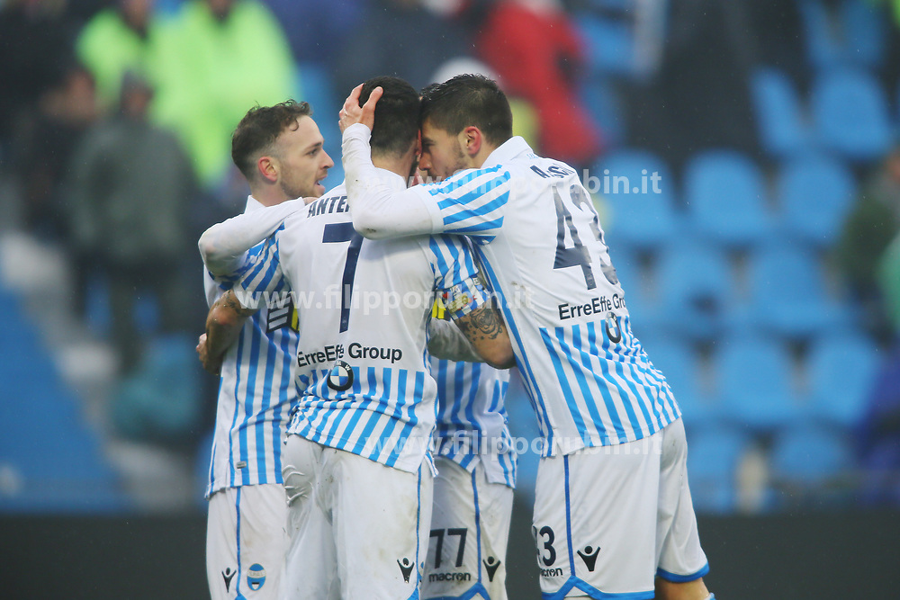 "Foto Filippo Rubin<br /> 03/03/2018 Ferrara (Italia)<br /> Sport Calcio<br /> Spal - Bologna - Campionato di calcio Serie A 2017/2018 - Stadio ""Paolo Mazza""<br /> Nella foto: ALBERTO PALOSCHI (SPAL)<br /> <br /> Photo by Filippo Rubin<br /> March 03, 2018 Ferrara (Italy)<br /> Sport Soccer<br /> Spal vs Bologna - Italian Football Championship League A 2017/2018 - ""Paolo Mazza"" Stadium <br /> In the pic: ALBERTO PALOSCHI (SPAL)"