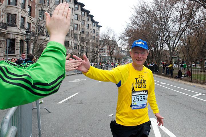 April 18, 2011, Boston, MA - Images from the 115th Boston Marathon. Photo by Lathan Goumas