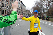 April 18, 2011, Boston, MA - Images from the 115th Boston Marathon. Photo by Lathan Goumas