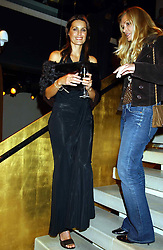 YASMIN LE BON at a party to celebrate the first 20 years of fashion label Donna Karan held at her store at 19/20 New Bond Street, London W1 on 21st September 2004.<br /><br />NON EXCLUSIVE - WORLD RIGHTS