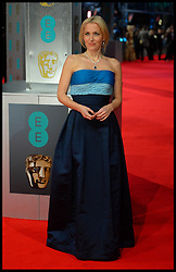Gillian Anderson arrive for the EE BRITISH ACADEMY FILM AWARDS 2014 (BAFTA) at the The Royal Opera House in Covent Garden . London, United Kingdom. Sunday, 16th February 2014. Picture by Andrew Parsons / i-Images
