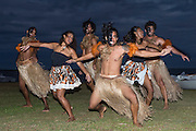 Fijian dance group VOU performs at the closing ceremony. ISAF Emerging Nations Program, Suva Fiji. 30/4/2015