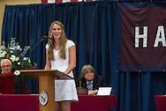 Valedictory speech by Lillian Rose Brouwer at the Commencement of the Harvey School on June 5, 2014. (photo by Gabe Palacio)
