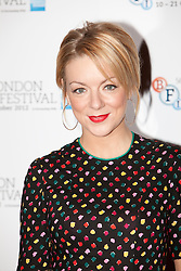 © Licensed to London News Pictures. 15/10/2012. London, U.K..actress Sheridan Smith today (15/10/2012) at the Empire theatre FOR THE BFI London film festival, Leicester Square for the film 'Quartet' directed by Dustin Hoffman and starring Billy Connolly, Pauline Collins, Tom Courtney, Sheridan Smith and Maggie Smith...Photo credit : Rich Bowen/LNP