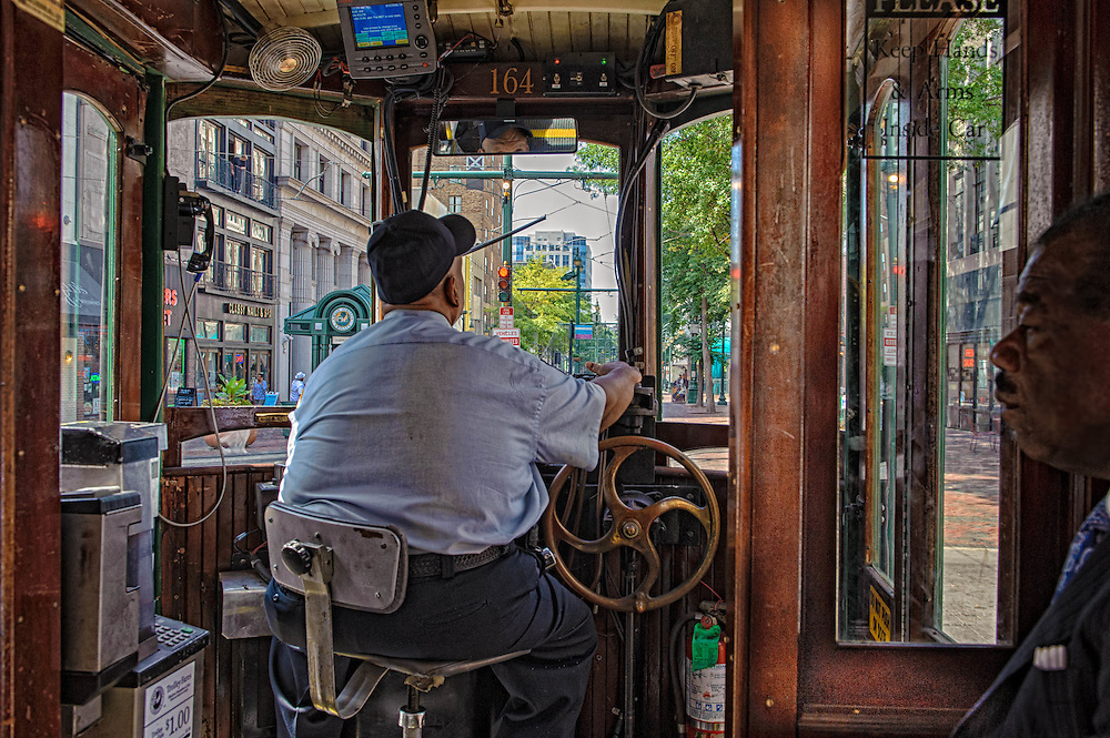 Trolley Conductor-Memphis Tennessee