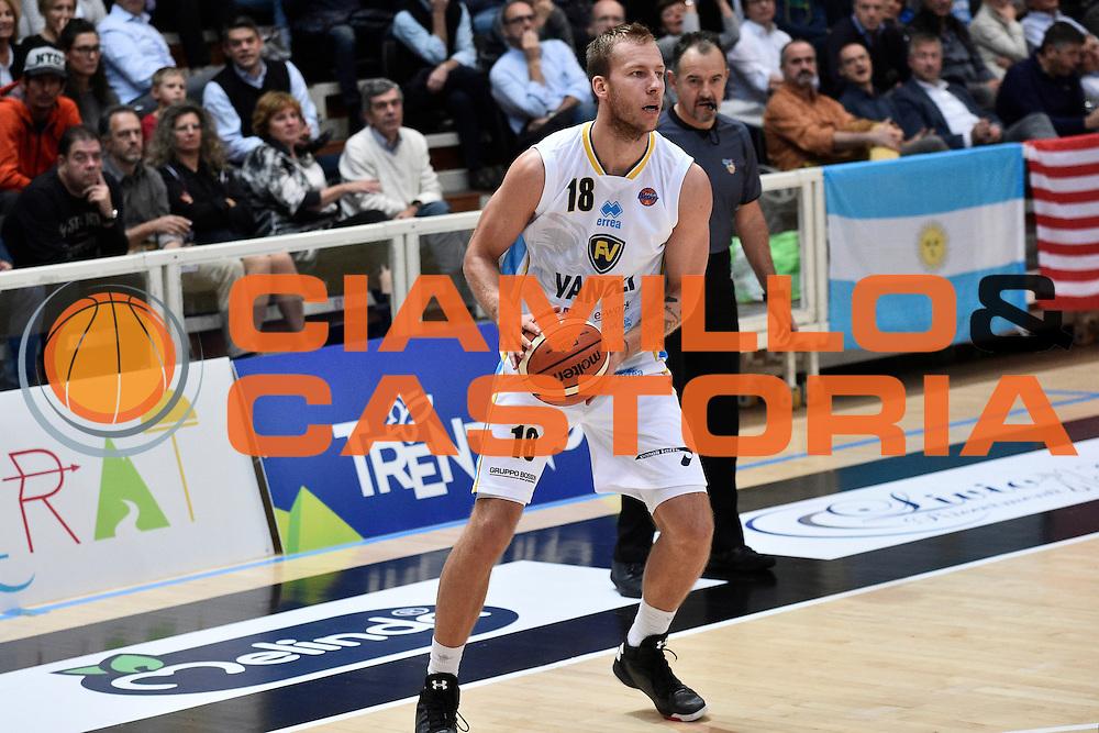 Wojciechowsky Jakub<br /> Dolomiti Energia Trento - Vanoli Cremona<br /> Lega Basket Serie A 2016/2017<br /> Trento 09/10/2016<br /> Foto Ciamillo-Castoria