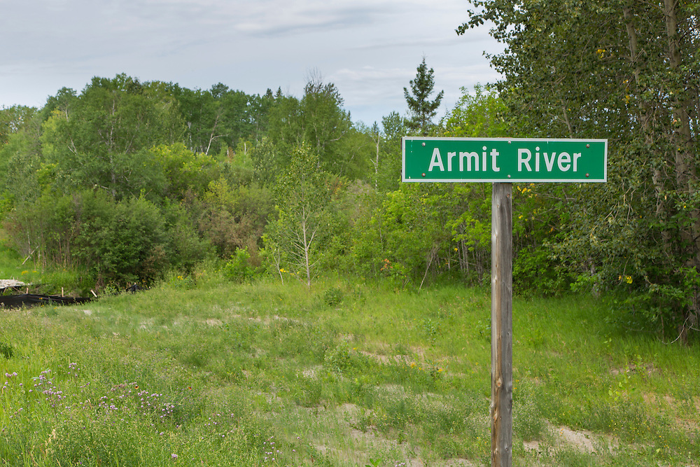 Armit River, Saskatchewan-Manitoba border, Day 7.