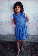 356101-1132 ~ Copyright:  George H. H. Huey ~ Nahua Indian girl. Maruata, Michoacan, Mexico.