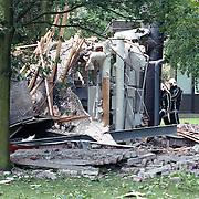 NLD/Leusden/19930621 - Gasexplosie Politieschool Leusden, twee zwaargewonden