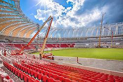 Foto das reformas do estádio Beira Rio feita em 001 de dezembro de 2013. O Estádio Beira Rio, que receberá jogos da Copa do Mundo de Futebol 2014, tem mais 85% da sua reforma concluída e re-inauguração agendada para 04 de abril de 2014. FOTO: Jefferson Bernardes/ Agência Preview