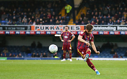 Luke Garbutt of Ipswich Town shoots from a free kick - Mandatory by-line: Arron Gent/JMP - 27/10/2019 - FOOTBALL - Roots Hall - Southend-on-Sea, England - Southend United v Ipswich Town - Sky Bet League One