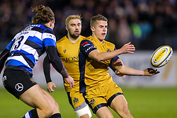 Billy Searle of Bristol Rugby in action - Rogan Thomson/JMP - 18/11/2016 - RUGBY UNION - Recreation Ground - Bath, England - Bath Rugby v Bristol Rugby - Aviva Premiership.