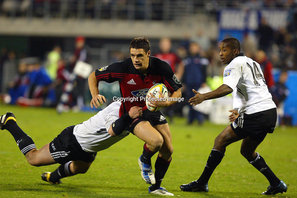 15 May 2004, Rugby Union Super 12 semi final, Crusaders vs Stormers, Jade Stadium, Christchurch, New Zealand.<br />