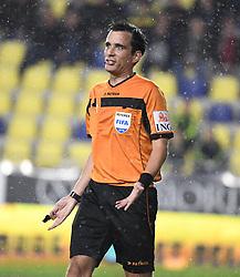 September 22, 2018 - France - referee Erik Lambrechts (Credit Image: © Panoramic via ZUMA Press)