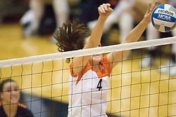 The Virginia Cavaliers Volleyball Team fell to the Duke Blue Devils three games to none on November 16, 2006 at Memorial Gymnasium in Charlottesville, VA...