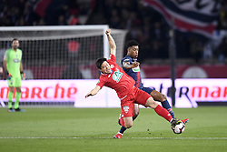 February 26, 2019 - Paris, France - 03 PRESNEL KIMPEMBE (PSG) - 22 CHANGHOON KWON  (Credit Image: © Panoramic via ZUMA Press)