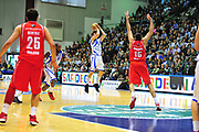 DESCRIZIONE : Sassari Lega A 2012-13 Dinamo Sassari - Armani Milano<br /> GIOCATORE :Travis Diener<br /> CATEGORIA :Tiro<br /> SQUADRA : Dinamo Sassari<br /> EVENTO : Campionato Lega A 2012-2013 <br /> GARA : Dinamo Sassari - Armani Milano<br /> DATA : 30/03/2013<br /> SPORT : Pallacanestro <br /> AUTORE : Agenzia Ciamillo-Castoria/M.Turrini<br /> Galleria : Lega Basket A 2012-2013  <br /> Fotonotizia : Sassari Lega A 2012-13 Dinamo Sassari - Armani Milano<br /> Predefinita :