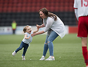 Pitch invader apprehended during Dundee Argyle v Dykehead AFC in the Scottish Sunday Trophy semi final at Excelsior Stadium, Airdrie, Photo: David Young<br /> <br />  - © David Young - www.davidyoungphoto.co.uk - email: davidyoungphoto@gmail.com