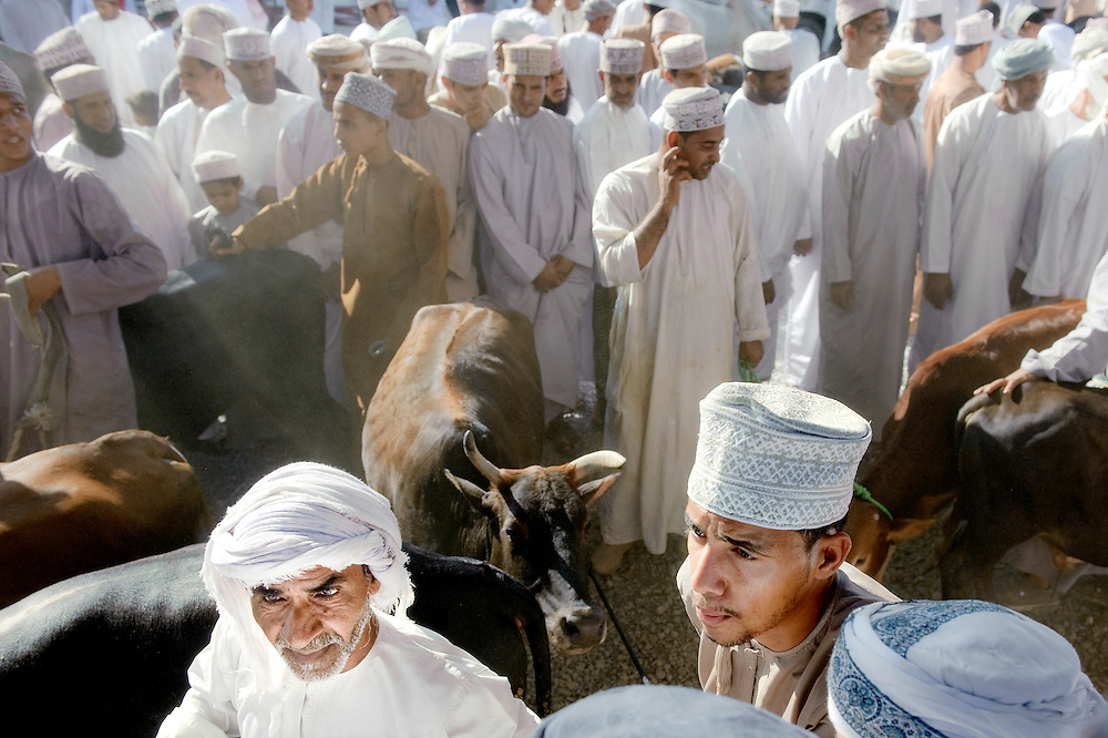 USE ARROWS &larr; &rarr; on your keyboard to navigate this slide-show<br /> <br /> Nizwa, Sultanate of Oman, 28 November 2008<br /> Animal market in Nizwa city.<br /> Photo: Ezequiel Scagnetti