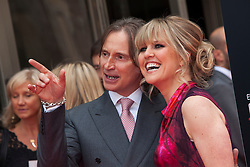 "Robert Carlyle and Ashley Jensen. Opening Night Gala and World Premiere of ""The Legend of Barney Thompson"", Edinburgh International Film Festival 17 - 28 June 2015."