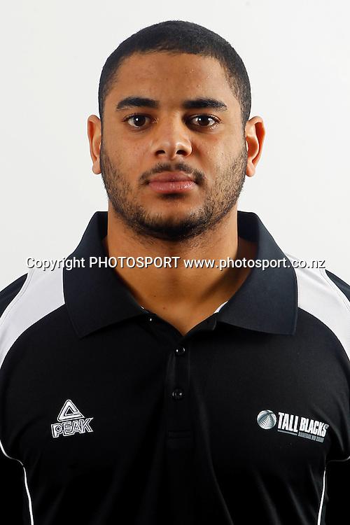 Corey Webster. Tall Blacks Headshots, New Zealand basketball. Millennium Institute of Sport, Auckland. 29 July 2011. Photo: William Booth/photosport.co.nz
