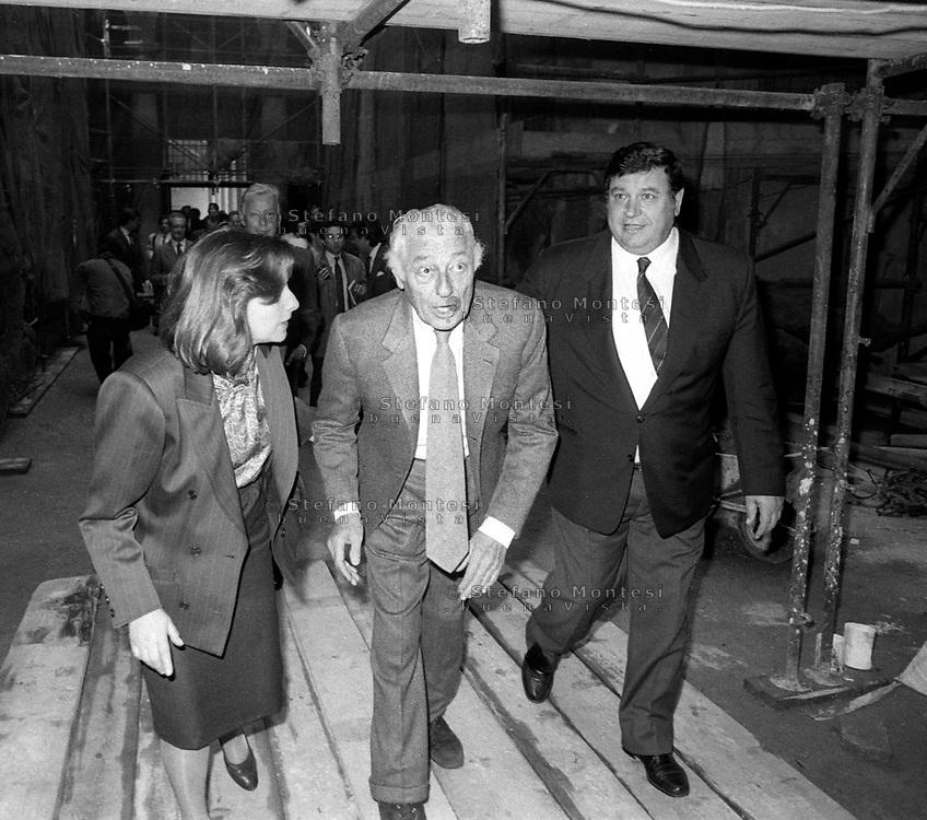 Roma 1983 . Gianni Agnelli  Fiat SpA