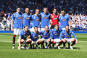 Rangers team before the Homecoming Scottish FA Cup Final between Falkirk and Rangers at Hampden Park (picture by David Young - 07765 252616)
