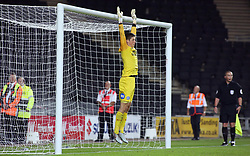 Connor O'Malley of Peterborough United during the penalty shoot-out - Mandatory by-line: Joe Dent/JMP - 04/09/2018 - FOOTBALL - Stadium MK - Milton Keynes, England - Milton Keynes Dons v Peterborough United - Checkatrade Trophy