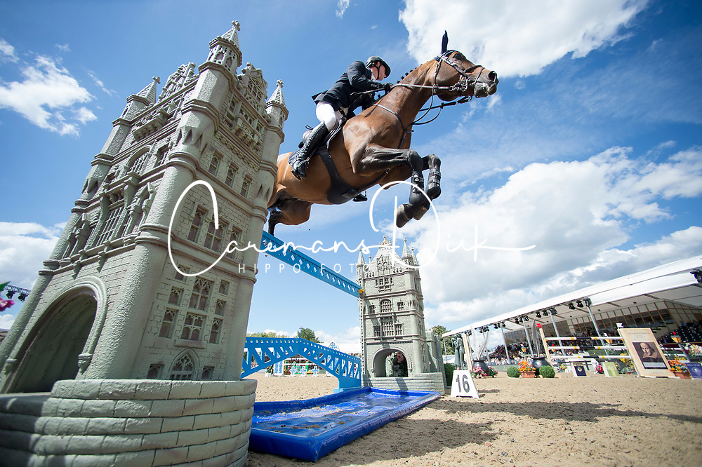 Maher Ben, GBR, Tic Tac<br /> Rolex Grand Prix Jumping<br /> Royal Windsor Horse Show<br /> &copy; Hippo Foto - Jon Stroud