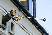 Glass blower Szentendre, Pest county, Hungary