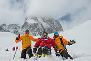 Fred Noble's 75th birthday celebration, Canadian Mountain Holidays, CMH, heli-skiing, Canada