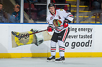 KELOWNA, BC - OCTOBER 20:  Henri Jokiharju #16 of the Portland Winterhawks against the Kelowna Rockets at Prospera Place on October 20, 2017 in Kelowna, Canada. (Photo by Marissa Baecker/Getty Images)
