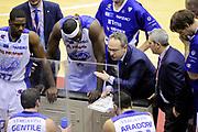 DESCRIZIONE : Milano Coppa Italia Final Eight 2014 Quarti Acqua Vitasnella Cantù Grissin Bon Reggio Emilia<br /> GIOCATORE : Stefano Sacripanti <br /> CATEGORIA : coach allenatori time out schema<br /> SQUADRA : Acqua Vitasnella Cantù<br /> EVENTO : Beko Coppa Italia Final Eight 2014 <br /> GARA : Acqua Vitasnella Cantù Grissin Bon Reggio Emilia<br /> DATA : 07/02/2014 <br /> SPORT : Pallacanestro <br /> AUTORE : Agenzia Ciamillo-Castoria/N.Dalla Mura<br /> GALLERIA : Lega Basket Final Eight Coppa Italia 2014 FOTONOTIZIA : Milano Coppa Italia Final Eight 2014 Quarti Acqua Vitasnella Cantù Grissin Bon Reggio Emilia