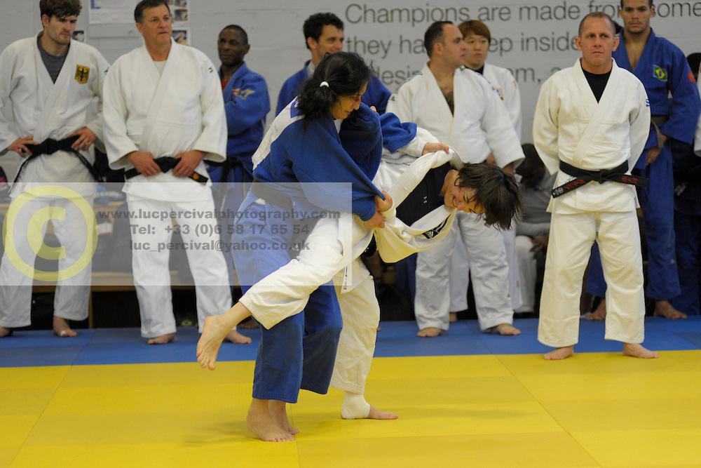 Training Camp, 2016 Visually Impaired Judo Grandprix, British Judo, Birmingham, England
