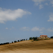The country near the city of Firenze, Toscana. Italy.