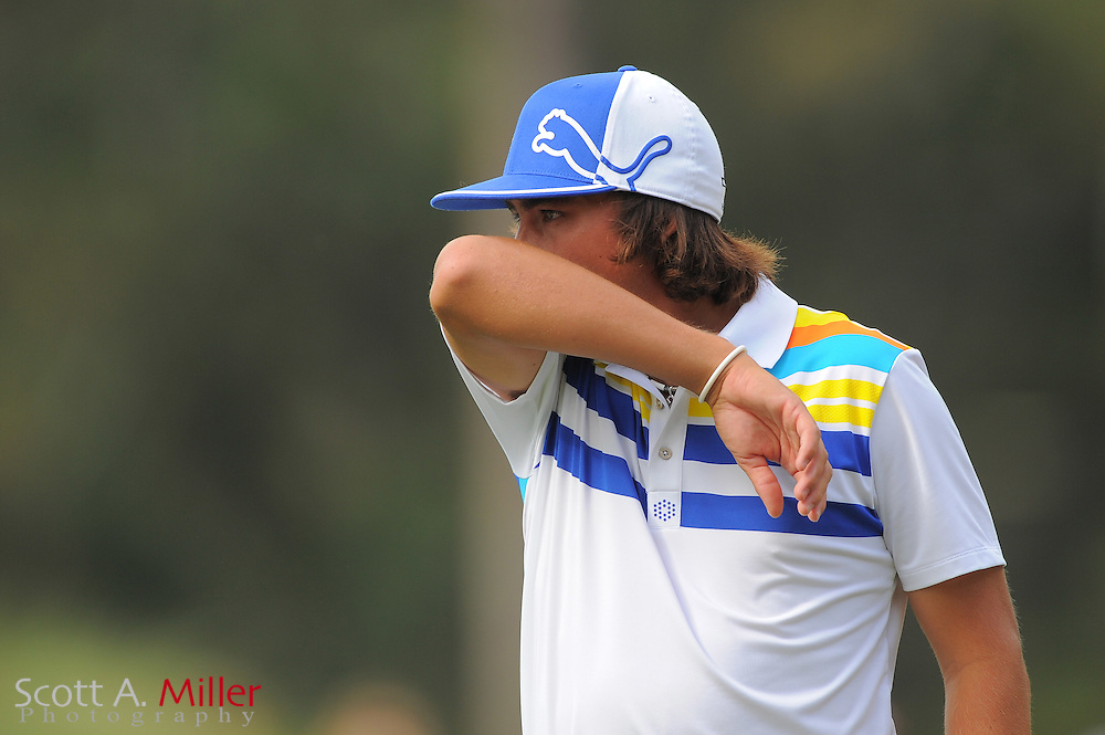 Rickie Fowler during the first round of the Players Championship at the TPC Sawgrass on May 10, 2012 in Ponte Vedra, Fla. ..©2012 Scott A. Miller..